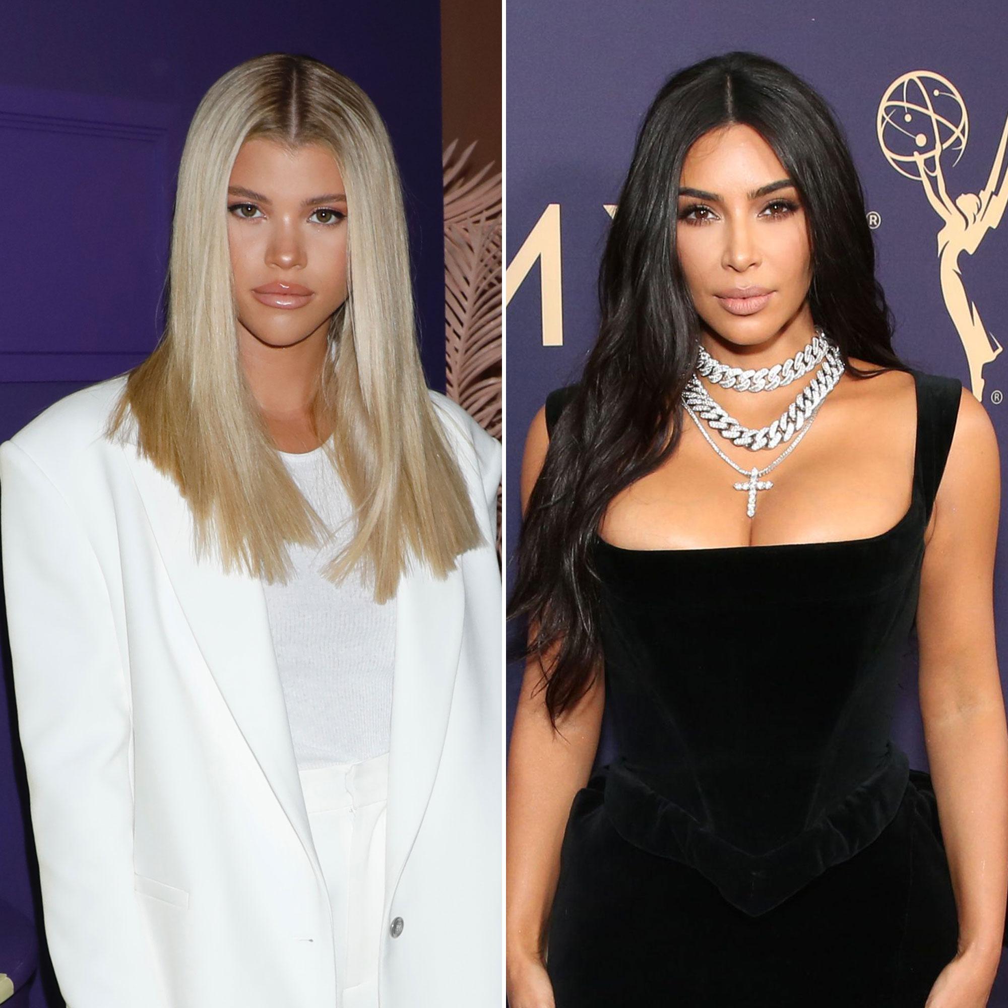 Sofia Richie Publicly Supports Kim Kardashian's New Skims Line: 'So Good'