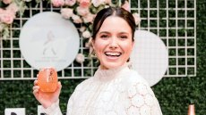 Sophia Bush celebrates with Jane Walker by Johnnie Walker at the Create and Cultivate Small Business Summit