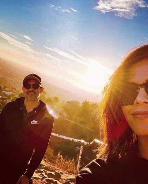 Steve Kazee and Jenna Dewan Wearing Sunglasses