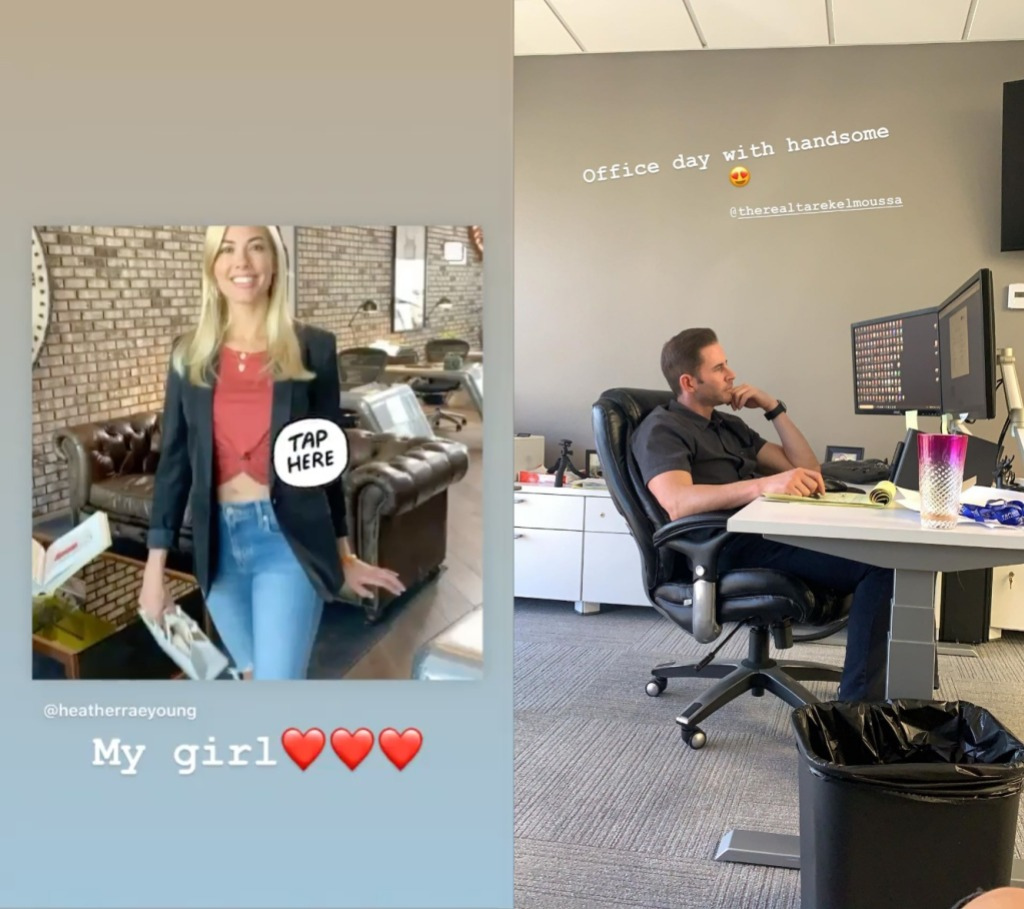 Tarek El Moussa Heather Rae Young Gush About Each Other on Instagram