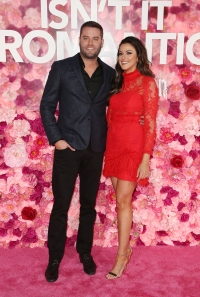 Tia Booth and Cory Cooper Pose Smiling Breakup