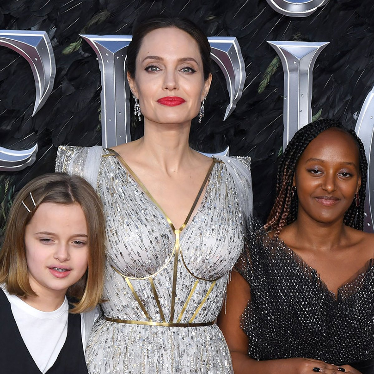 Angelina Jolie Goes To London Maleficent Premiere With Her