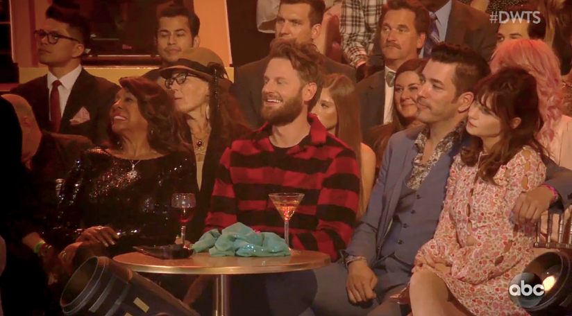 Zooey Deschanel and 'Property Brothers' Star Jonathan Scott Take Their Romance Public on 'DWTS'