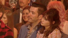 Zooey Deschanel and Jonathan Scott on 'DWTS'