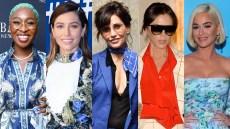Cynthia Erivo, Jessica Biel, Gina Gershon, Victoria Beckham, Katy Perry