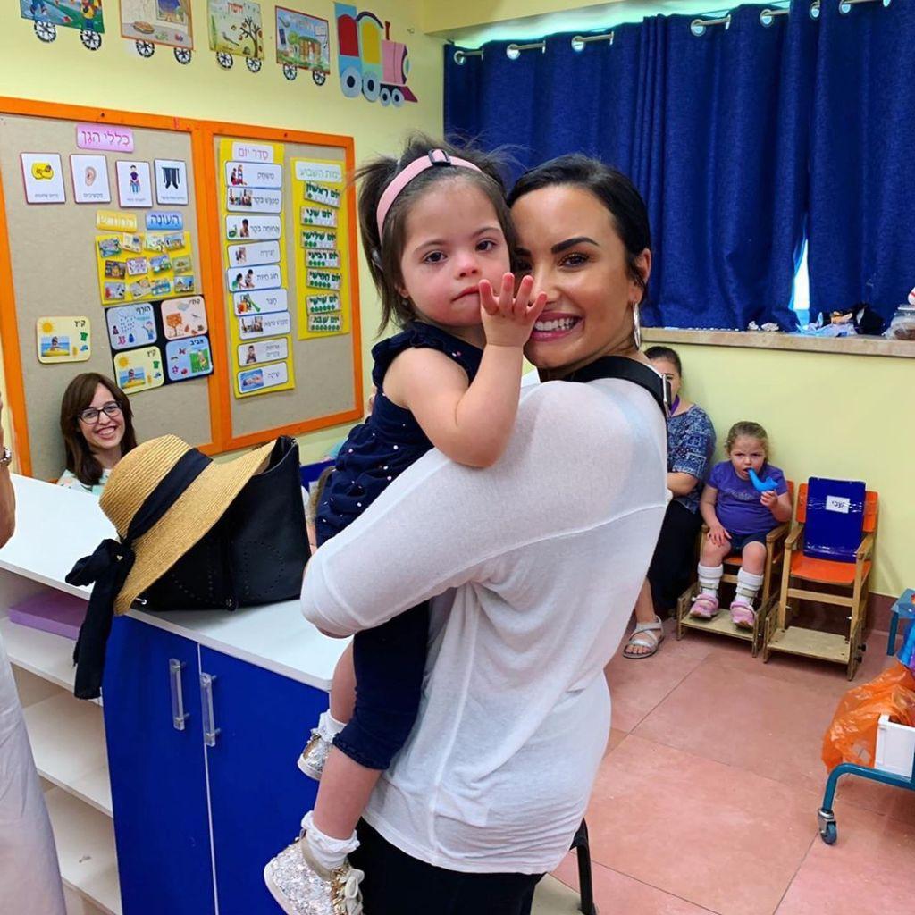 Demi Lovato Israel Children's Center