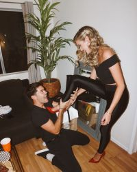 Bachelor Nation Halloween Costumes Hannah Godwin and Dylan Barbour