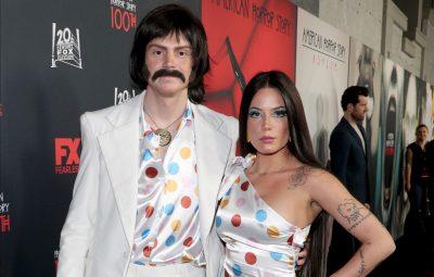 Halsey and Evan Peters Make Red Carpet Debut