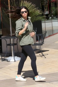 Jenna Dewan Out and About