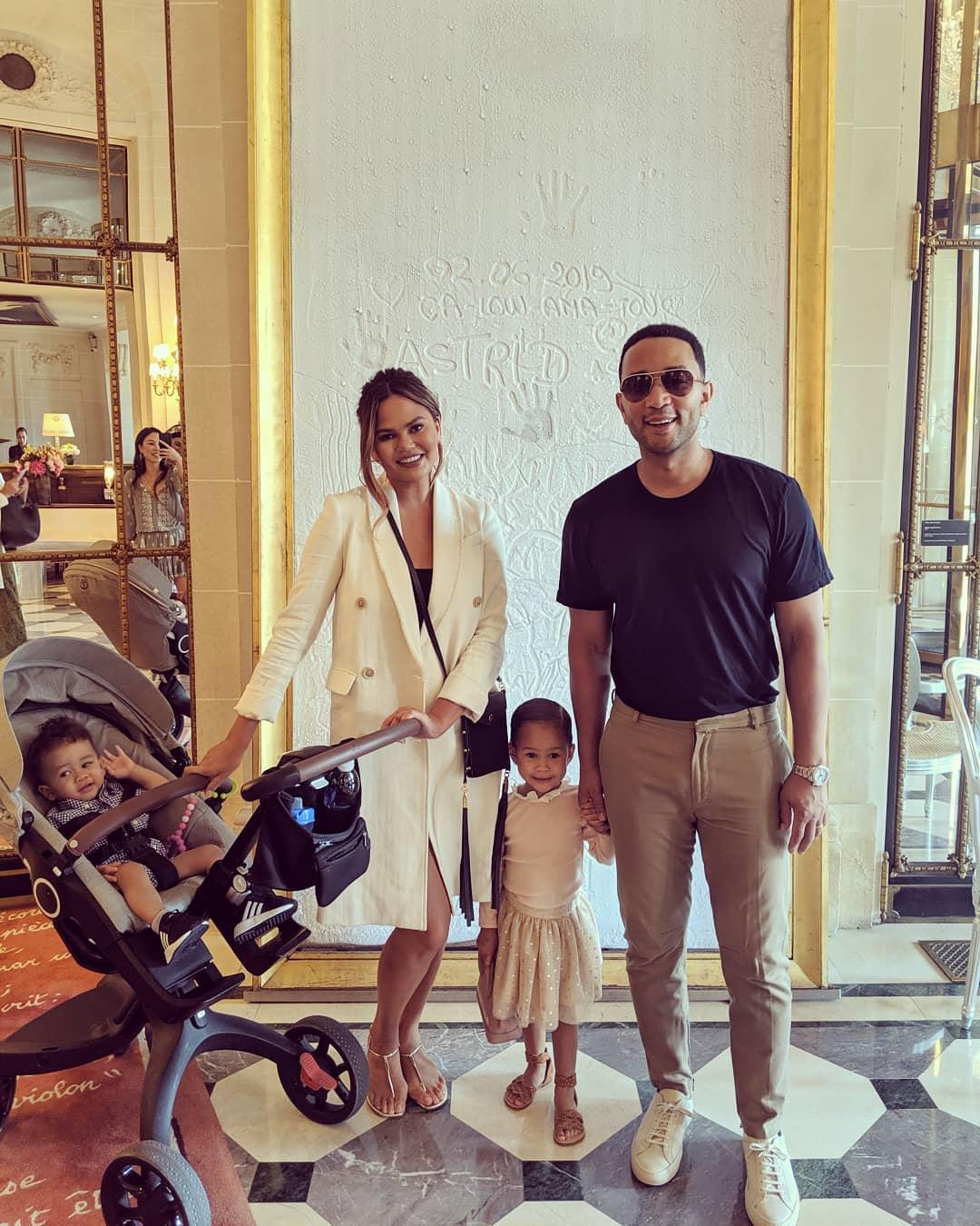 Chrissy Teigen, John Legend and Their Kids