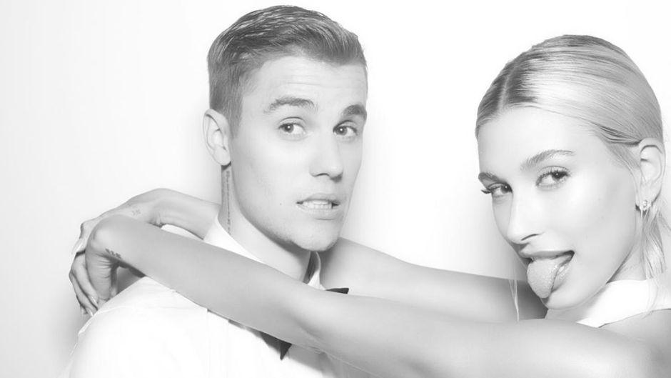 Justin Bieber and Hailey Baldwin Wedding Photobooth