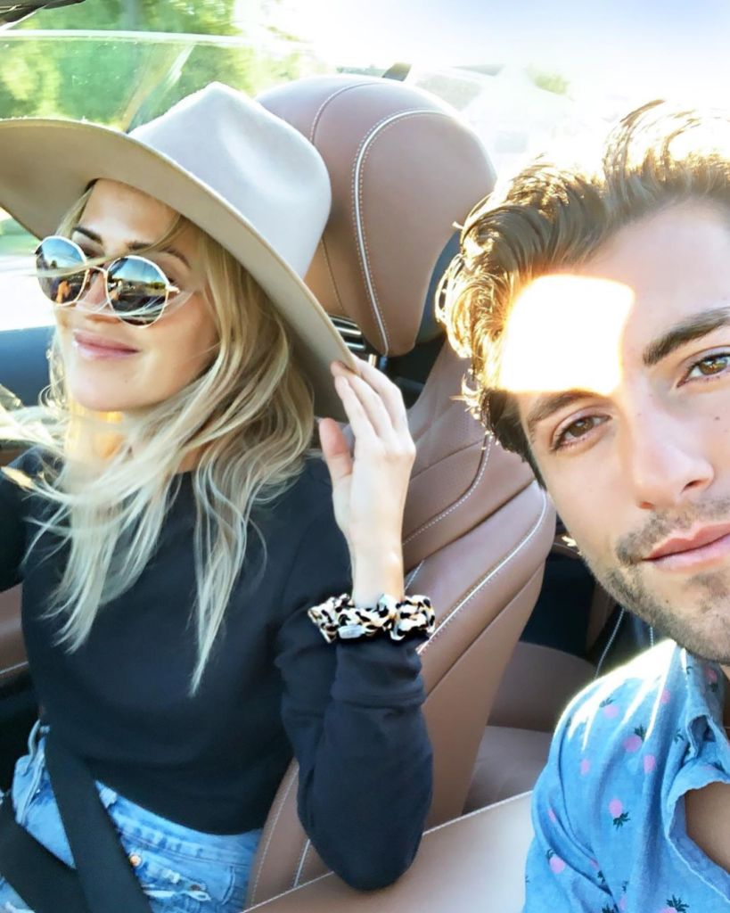 Kaitlyn Bristowe and Jason Tartick Selfie in Car Responds to Fans Saying She's Pressuring Him to Propose