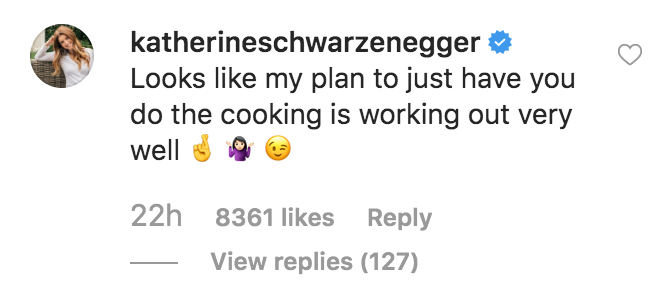 katherine-schwartzenegger-cooking-fail-comment