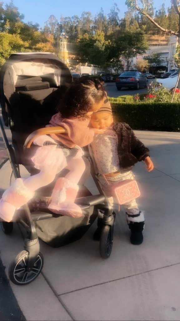 Dream Kardashian and True Thompson Kiss on Playdate With Khloe Kardashian