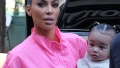 kim kardashian's daughter chicago west talks on instagram