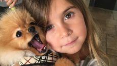 Kourtney Kardashian Shares Photo of Penelope Disick Cuddling Dog