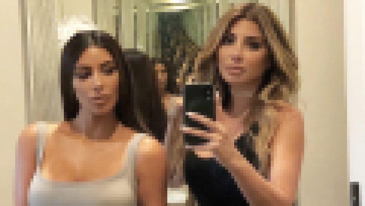 Larsa Pippen Wishes Kim Kardashian a Happy Birthday