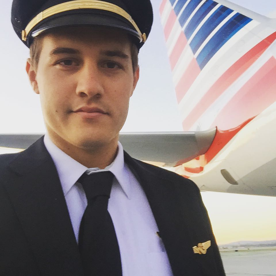 Peter Weber Bachelor Face Injury in Pilot Uniform