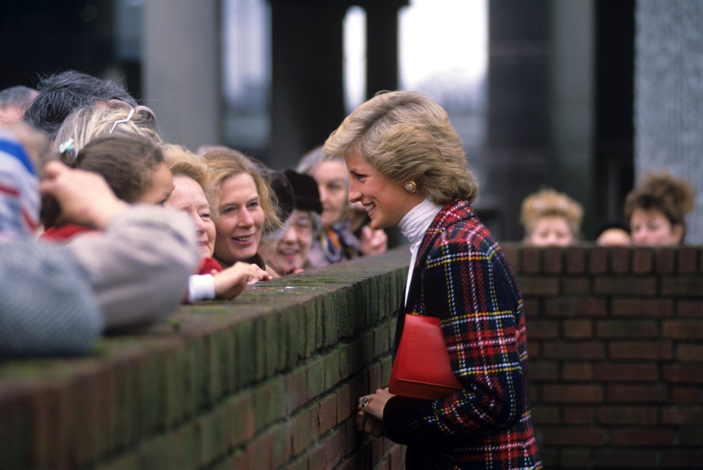 Princess Diana Talking to People
