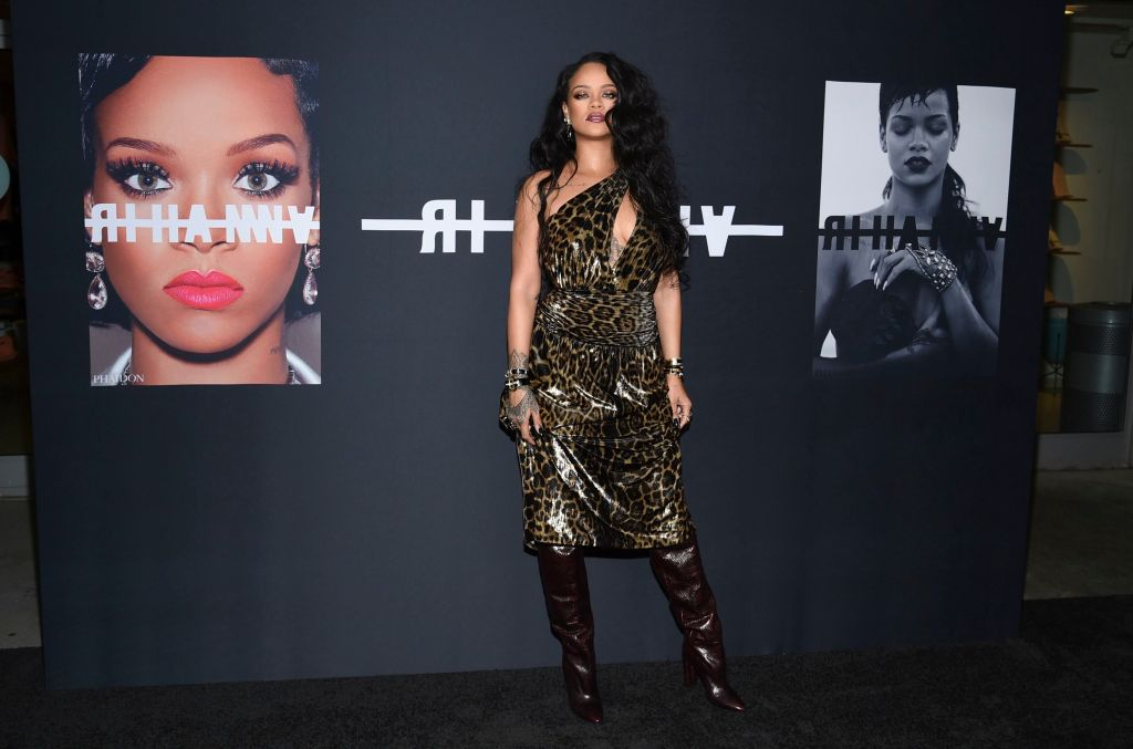 Rihanna at Her Book Launch