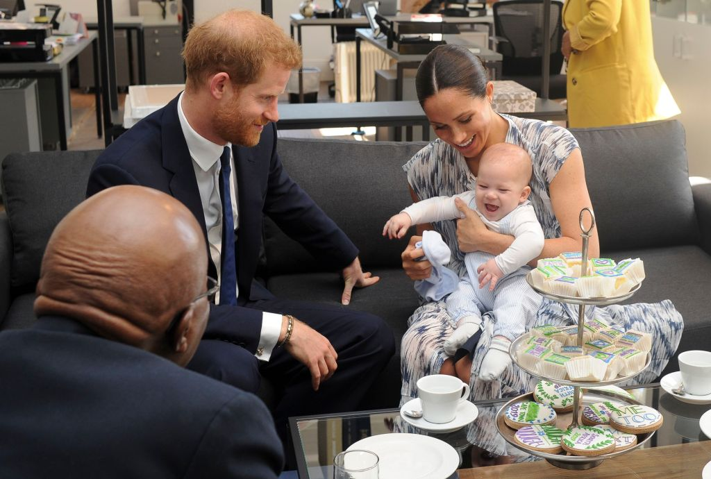 Baby Archie is Prince Harry's Mini Me