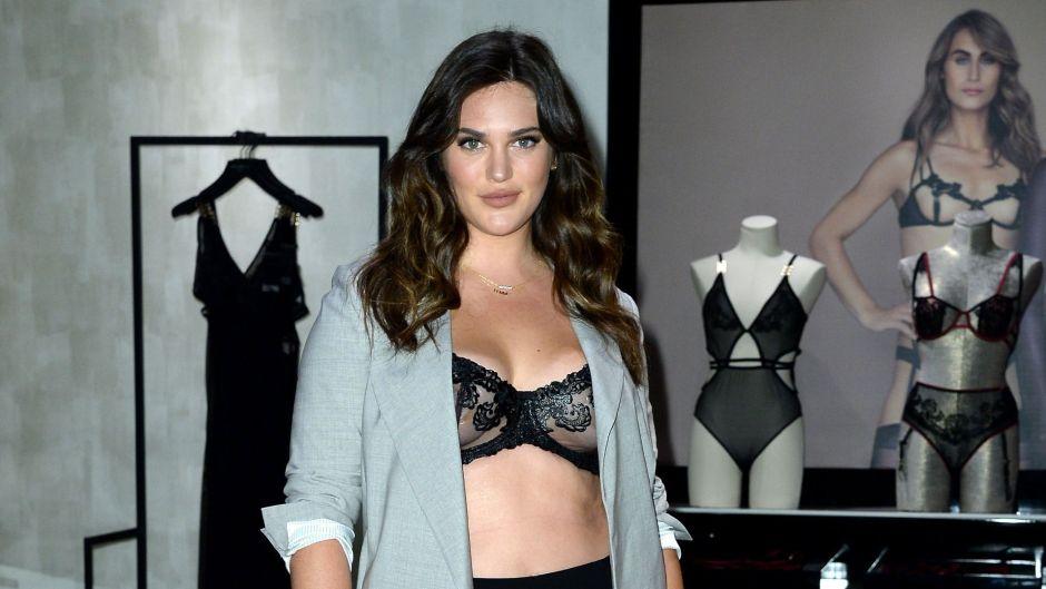 Ali Tate Cutler Plus Sized Model Victoria's Secret 'Bluebella' collection launch, New York, USA - 04 Oct 2019