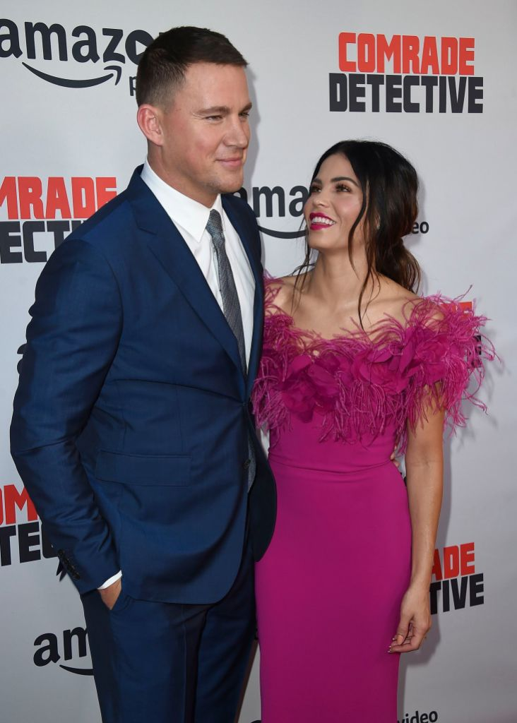 Jenna Dewan and Channing Tatum Red Carpet Together Before Split