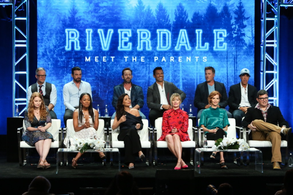 Riverdale Cast with Luke Perry