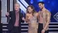 TOM BERGERON, HANNAH BROWN, ALAN BERSTEN DWTS Semifinals Gold Costume