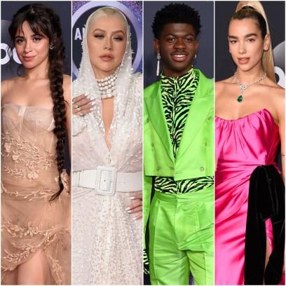 Camila Cabello, Christina Aguilera, Lil Nas X, Dua Lipa Best Worst Dressed Celebs 2019 AMAs