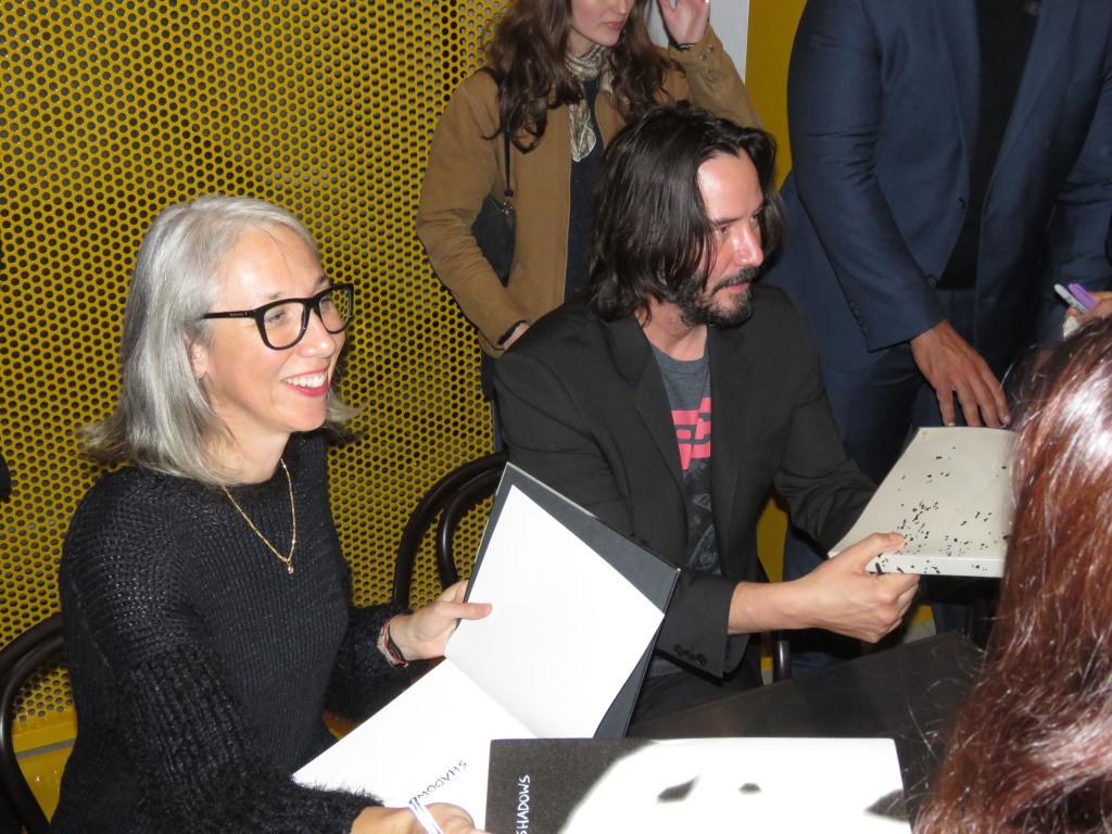 Keanu Reeves and Now-Girlfriend Alexandra Grant at a Book Signing in 2017