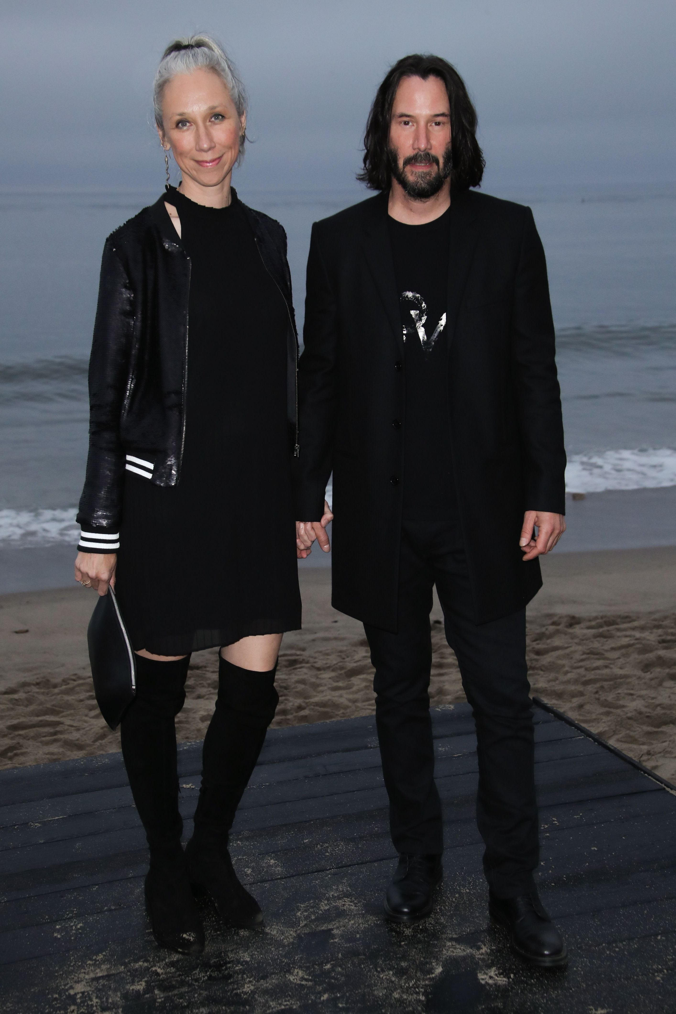 Who Is Keanu Reeves Girlfriend Get To Know Alexandra Grant