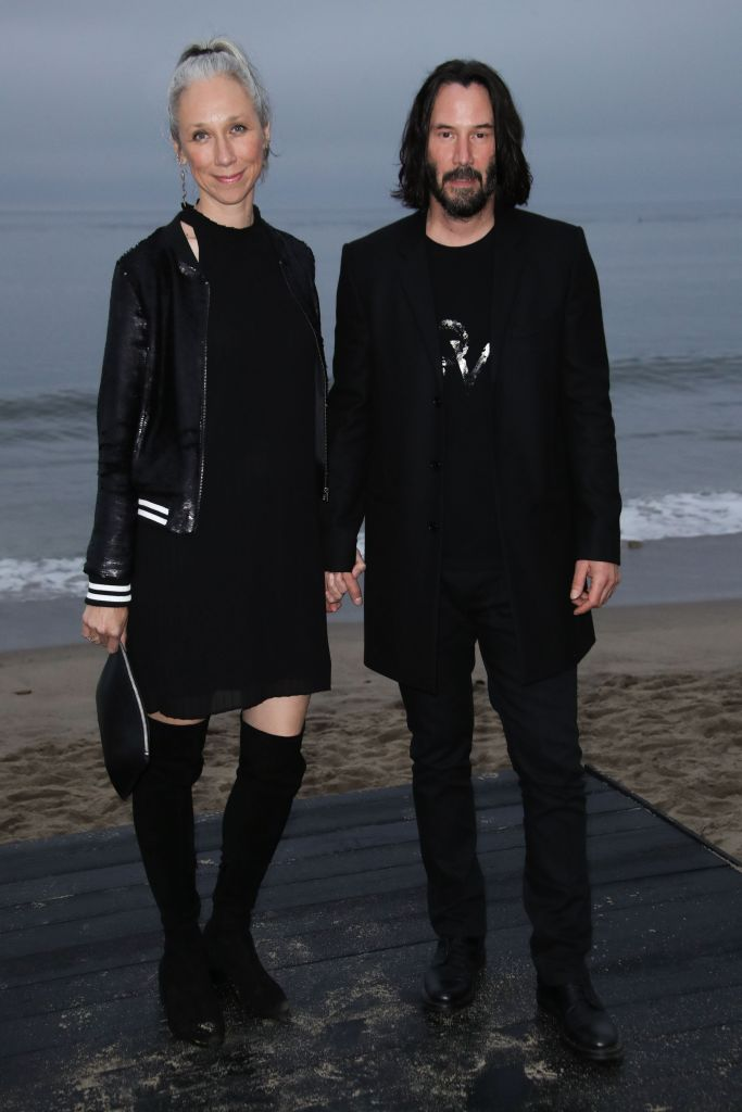 Alexandra Grant and Keanu Reeves in June 2019