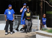 Amber Rose Shows off Her Post-Baby Body While out With Boyfriend Alexander Edwards and Son Sebastian