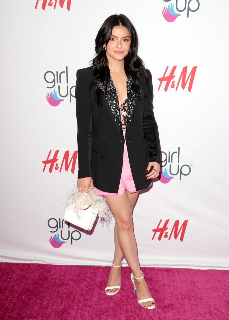Ariel Winter Posing on the Red Carpet, Ariel Winter Discusses the Importance of Mental and Physical Health