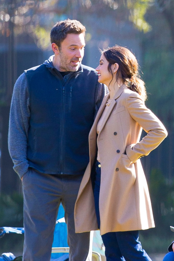 Ben Affleck and Ana de Armas on the Set of 'Deep Water'