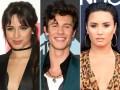 Camila Cabello, Shawn Mendes, Demi Lovato