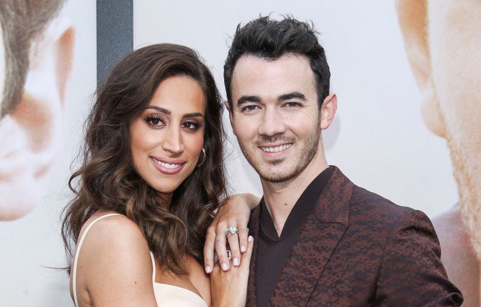 Danielle and Kevin Jonas at the 'Chasing Happiness' Film Premiere
