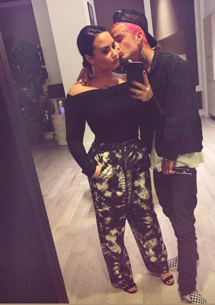 Demi Lovato and Austin Wilson