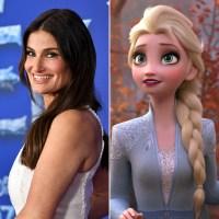 Idina Menzel and Elsa Frozen 2 Cast