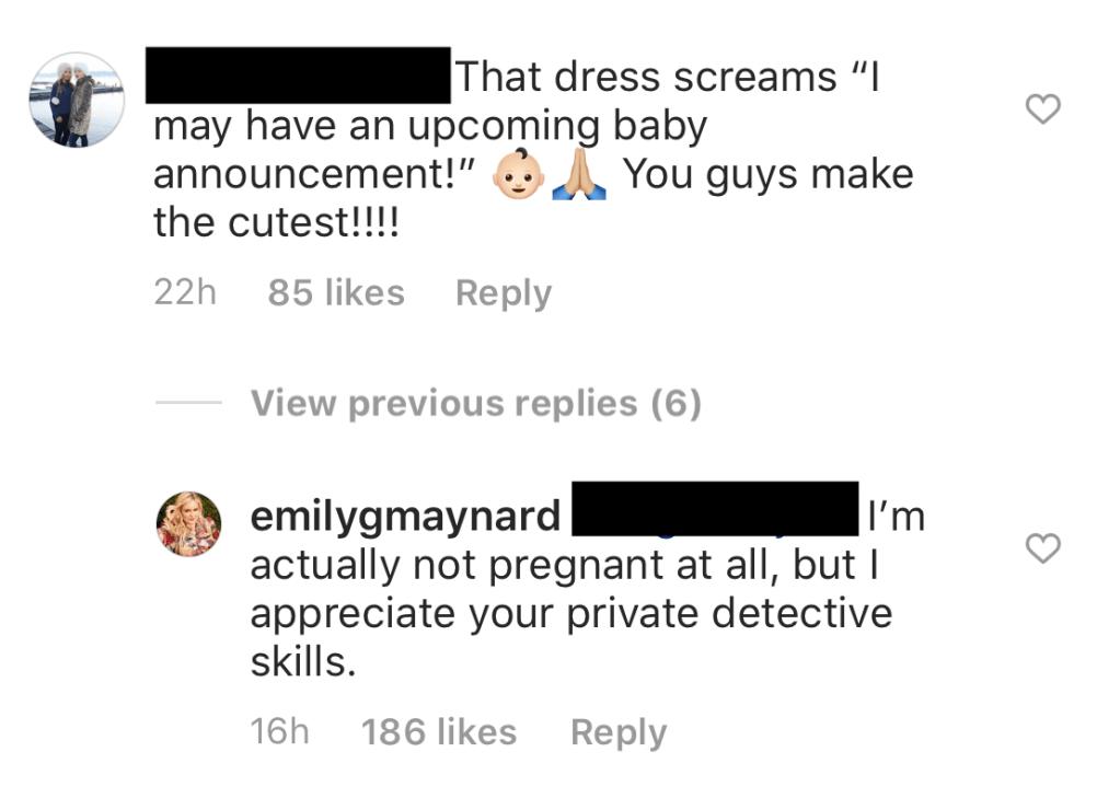 Bachelorette Emily Maynard Claps Back at Trolls on Instagram 2