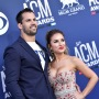 Jessie James Decker and Husband Eric Decker Posing on the Red Carpet