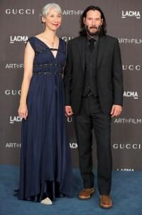 Keanu Reeves Packs On PDA Alexandra Grant