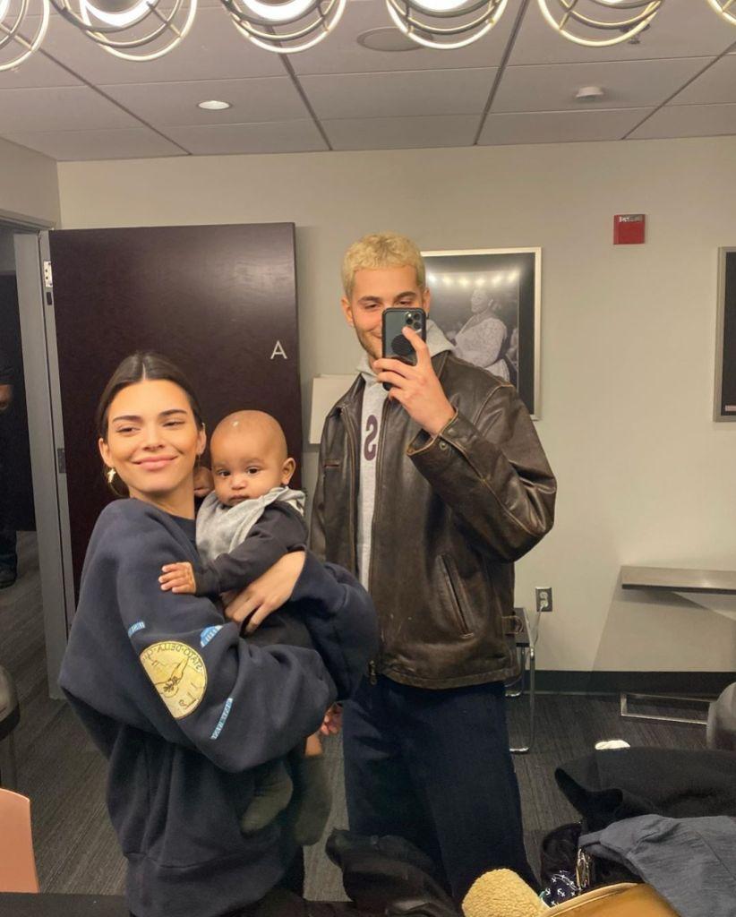 Kendall Jenner, Fai Khadra, Psalm West Mirror Selfie
