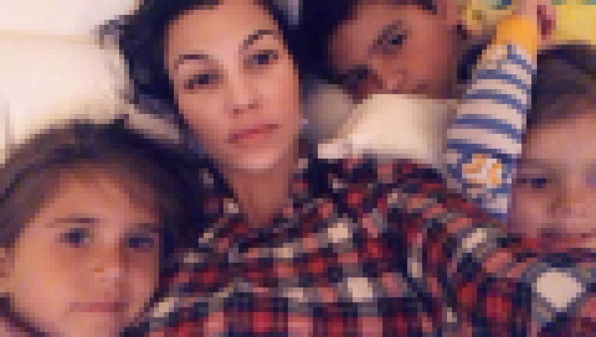 Kourtney Kardashian Snaps a Selfie With Her 3 Kids Penelope, Mason and Reign
