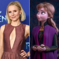 Kristen Bell and Anna Frozen 2 Cast