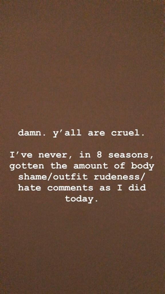 Kristen Doute Speaks Out Against Body-Shaming on Instagram