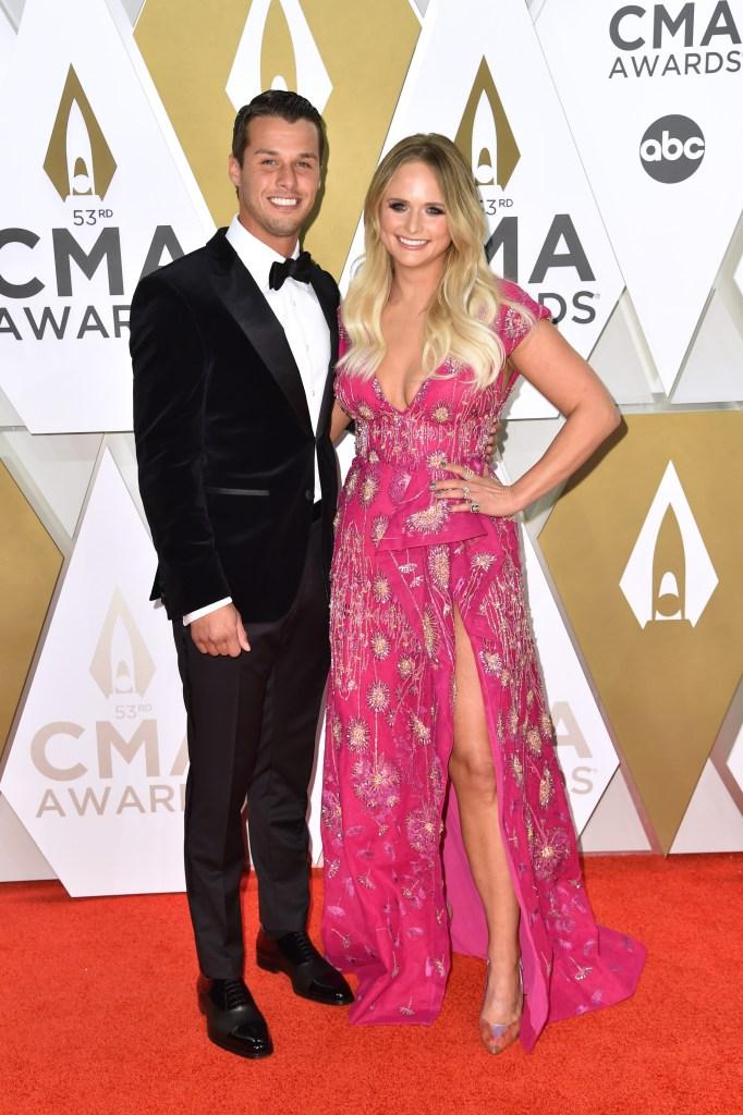 Miranda Lambert and Brendan McLoughlin 2019 CMAs