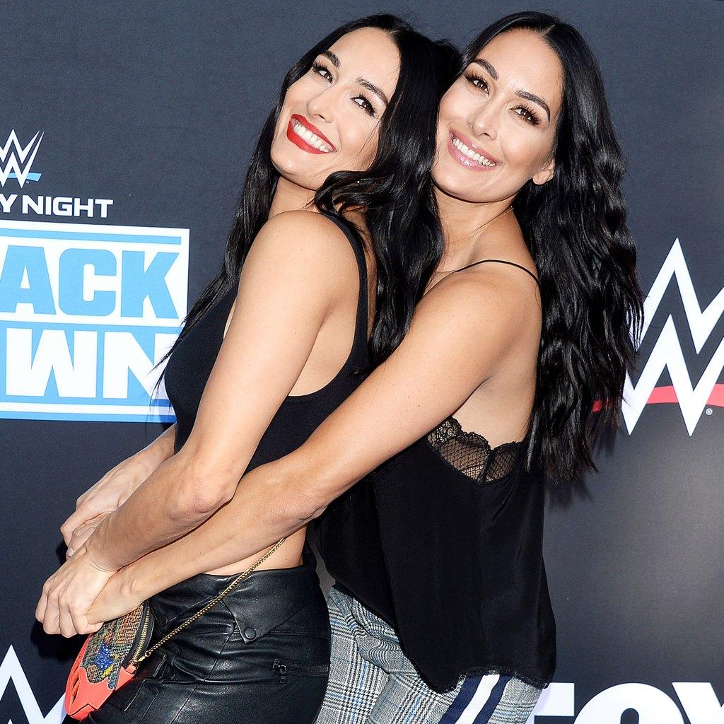 Nikki Bella Brie Bella Tease Coming Out of Retirement Total Divas