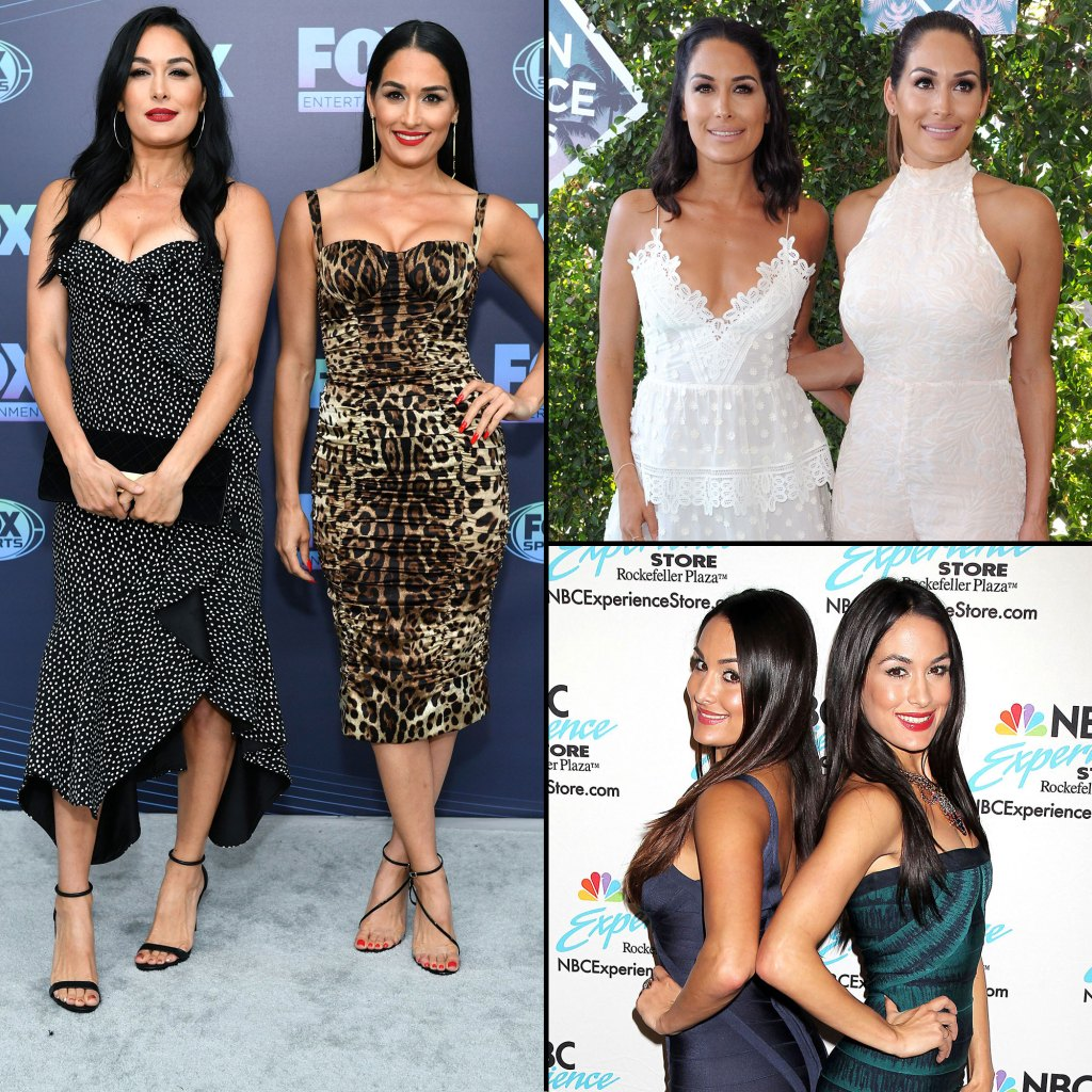 Nikki Bella and Brie Bella Best Style Moments